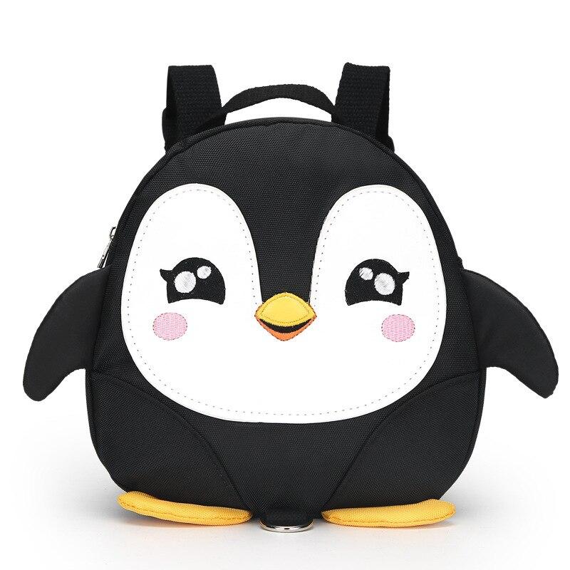 Cartoon Penguin wings anti lost Toddler backpacks waterproof kindergarten children school bags Satchel for boy and girls Mochila in School Bags from Luggage Bags