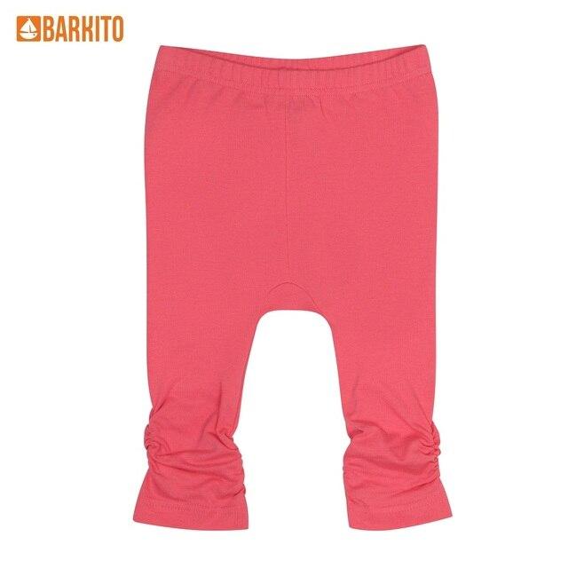 Брюки модель «лосины» для девочки Barkito «Лимонад», розовые
