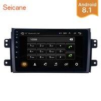 Seicane 2Din Android 8,1 9 дюймов сенсорный головное устройство автомобиля Радио Стерео gps мультимедийный плеер для Suzuki SX4 2006 2007 2012