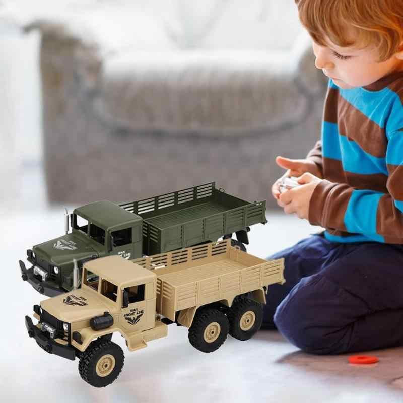 DIY RC Truck Kit 6 Wheels Drive Truck Climbing Remote Control Military Truck Rock Crawler Car Hobby Toys for Boys Eletric Toys