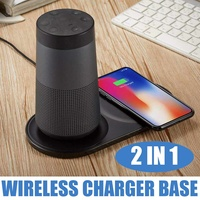 5W Portable Wireless Phone Charging Pad Desk for PC Speaker Base Charger For Bose SoundLink Revolve Universal Phone Charger