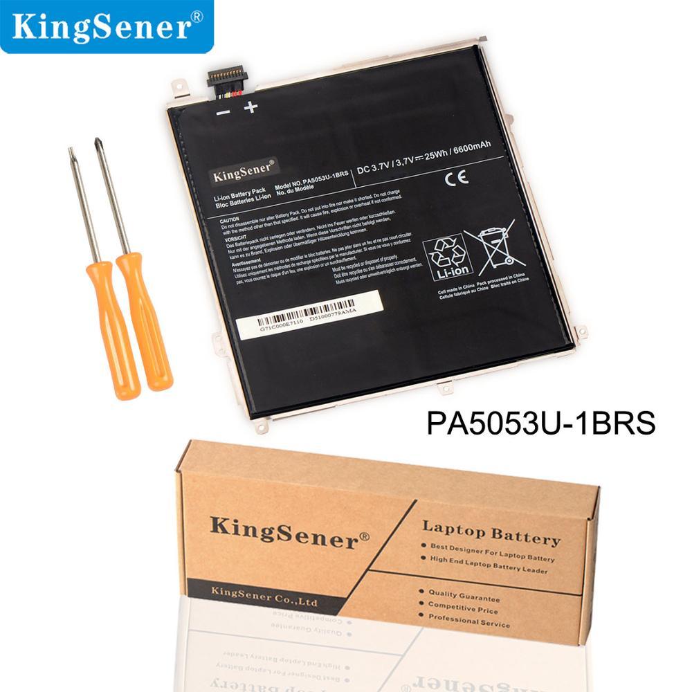 KingSener New PA5053U PA5053U-1BRS Laptop Battery For Toshiba Excite 10 Series Tablet PC PA5053 Battery  3.7V 25WH/6600mAh
