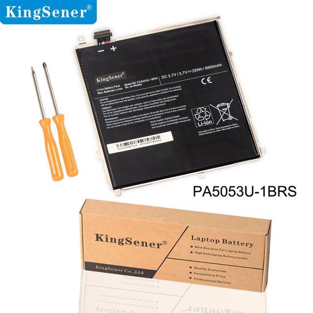 KingSener New PA5053U PA5053U 1BRS Laptop Battery For Toshiba Excite 10 Series Tablet PC PA5053 battery  3.7V 25WH/6600mAh