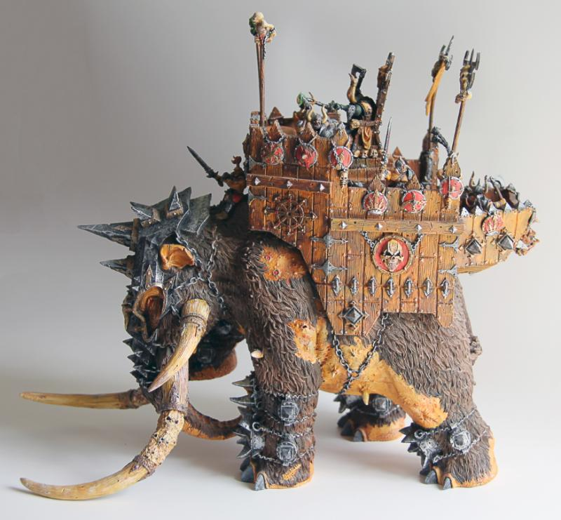 Chaos War Mammoth-in Model Building Kits from Toys & Hobbies