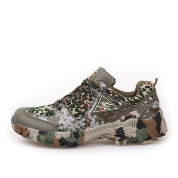 Spring Autumn Outdoor Climbing Camo Sneakers Shoes Men Hiking Hunting Camping Army Training Ultralight Breathable Sports Shoe 3