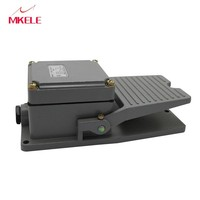 MkLT 3 Pedal Switcher Foot Pressure Switch 50 60hz High Frequency Foot Switch Pedal Aluminum Alloy Plastic New Black Wired