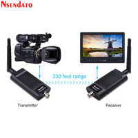Measy Air SDI 2,4G/5,8G 1080P 3D 100M transmisor en vivo de la Cámara de Audio inalámbrico adaptador de extensión del receptor del remitente para el Monitor HDTV
