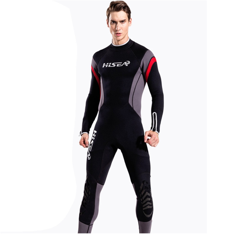 New Arrival Neoprene Wetsuit One-Piece Men 2.5mm Body Diving Suit Swimming Surfing Snorkeling Swimsuit Winter Warm Wetsuits