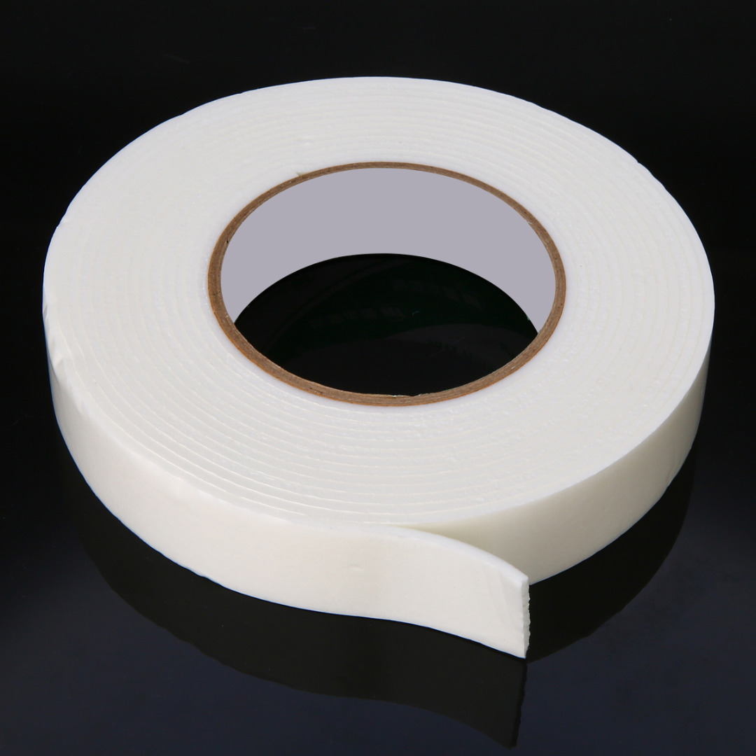 1mm White Foam Tape Double Sided Sticky CRAFTS Tape Not Pads