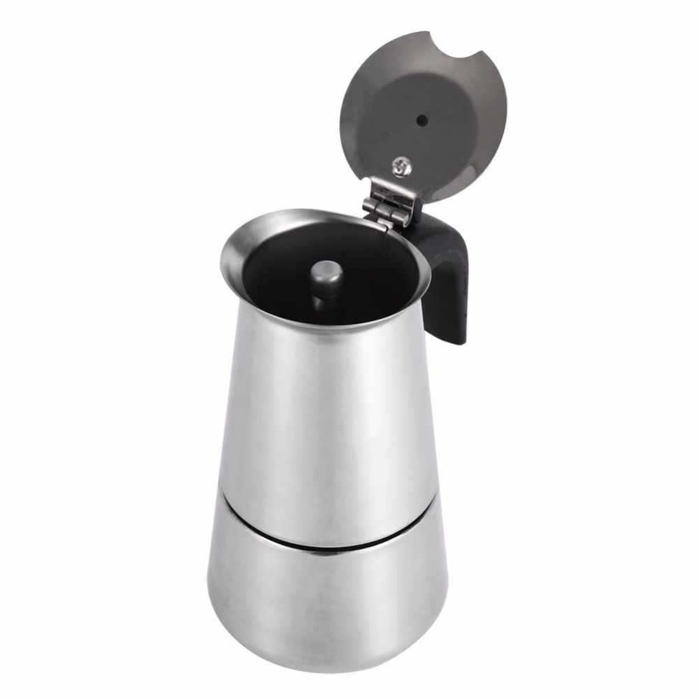 Кофеварка для эспрессо, латте, из нержавеющей стали