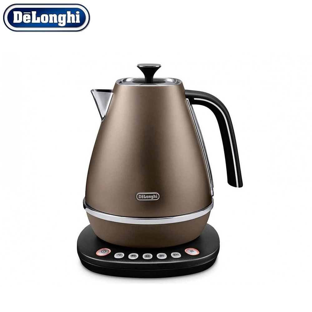 где купить Electric Kettles Delonghi KBI 2011.BZ home kitchen appliances kettle make tea дешево