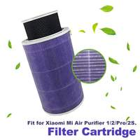 Fioletowy wkład filtra Anti mi crobial do Xiao mi mi inteligentny oczyszczacz powietrza 1/2/Pro oczyszczacz powietrza części akcesoria w Części do oczyszczaczy powietrza od AGD na