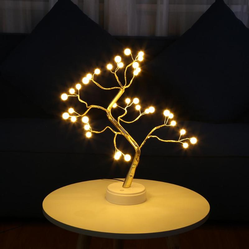 Provided Creative Touch Tree Branch Led Light Desktop Bonsai String Light For Home Party Wedding Indoor Decoration Lighting Lamp