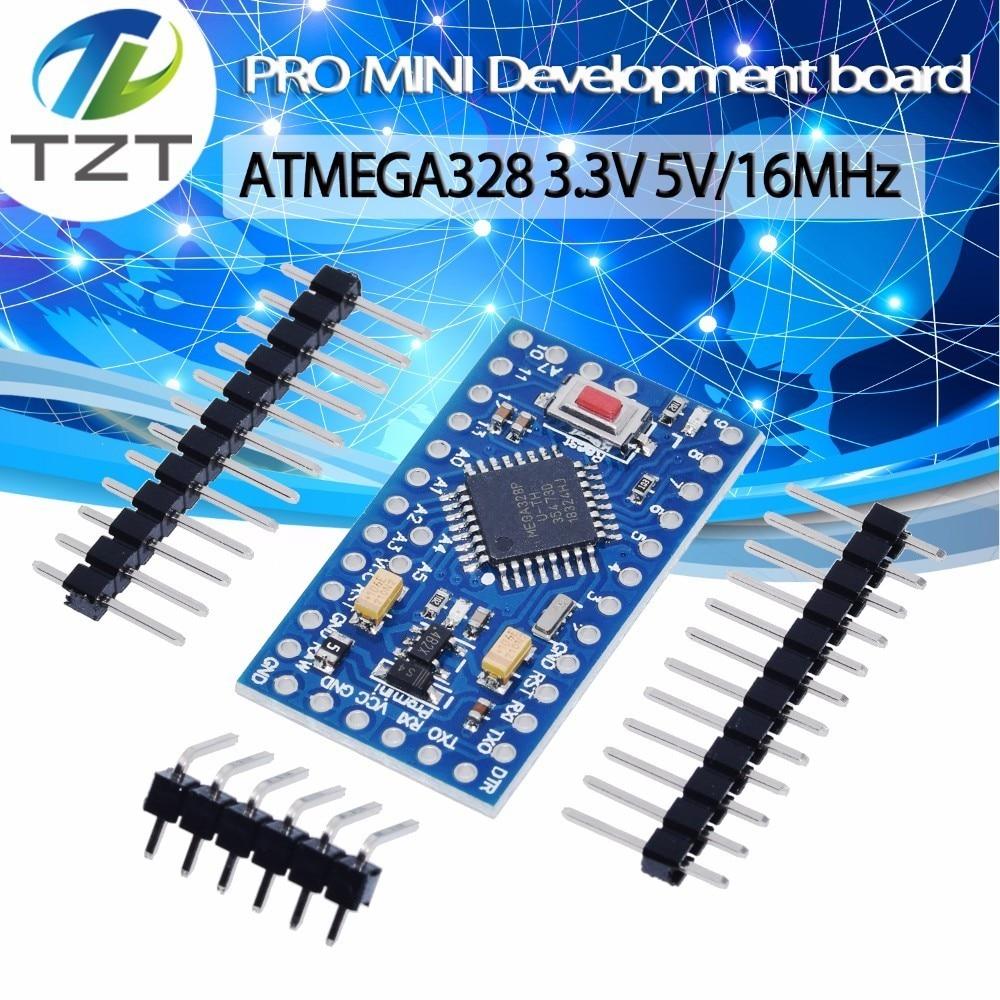 ATMEGA328P Pro Mini 328 Mini ATMEGA328 5V/16MHz  ATMEGA328 3.3V 8MHz For Arduino