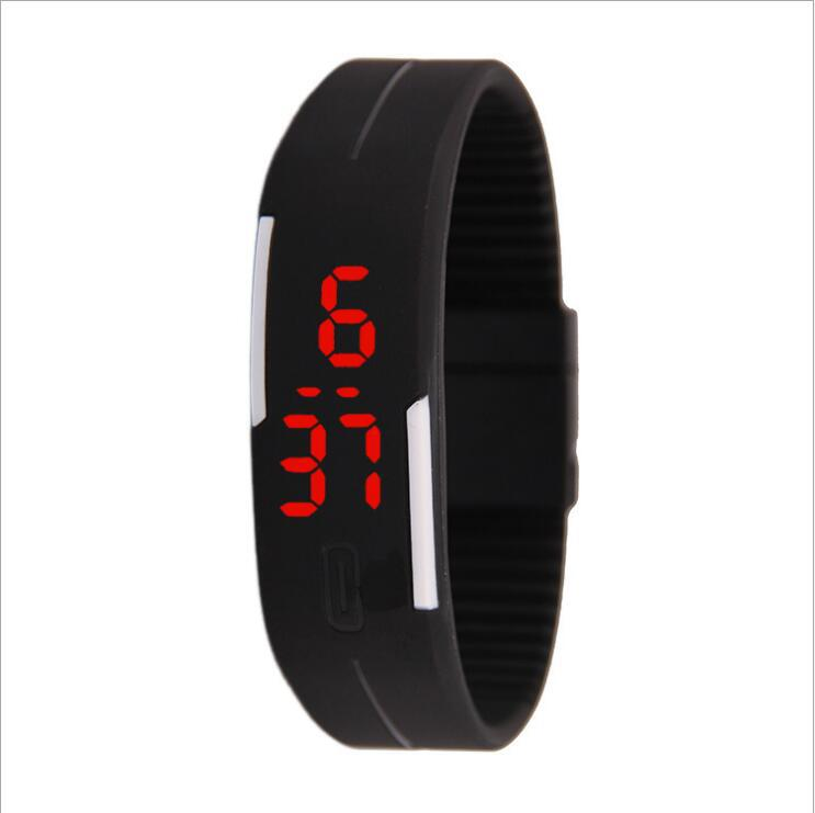 New Children's Watches Kids LED Digital Sport Watch For Boys Girls Men Women Electronic PU Silicone Bracelet Wrist Watch Reloj