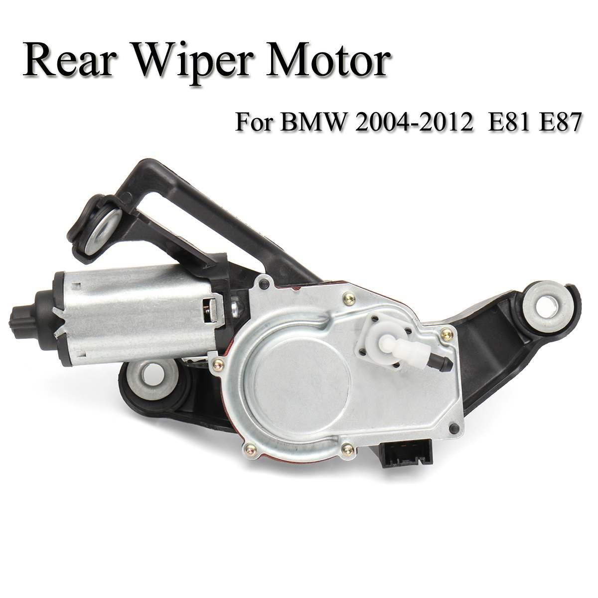 Auto Motore del Tergicristallo Posteriore Nero Per BMW 1 Serie E81 E87 Modelli Hatchback 2003-2012