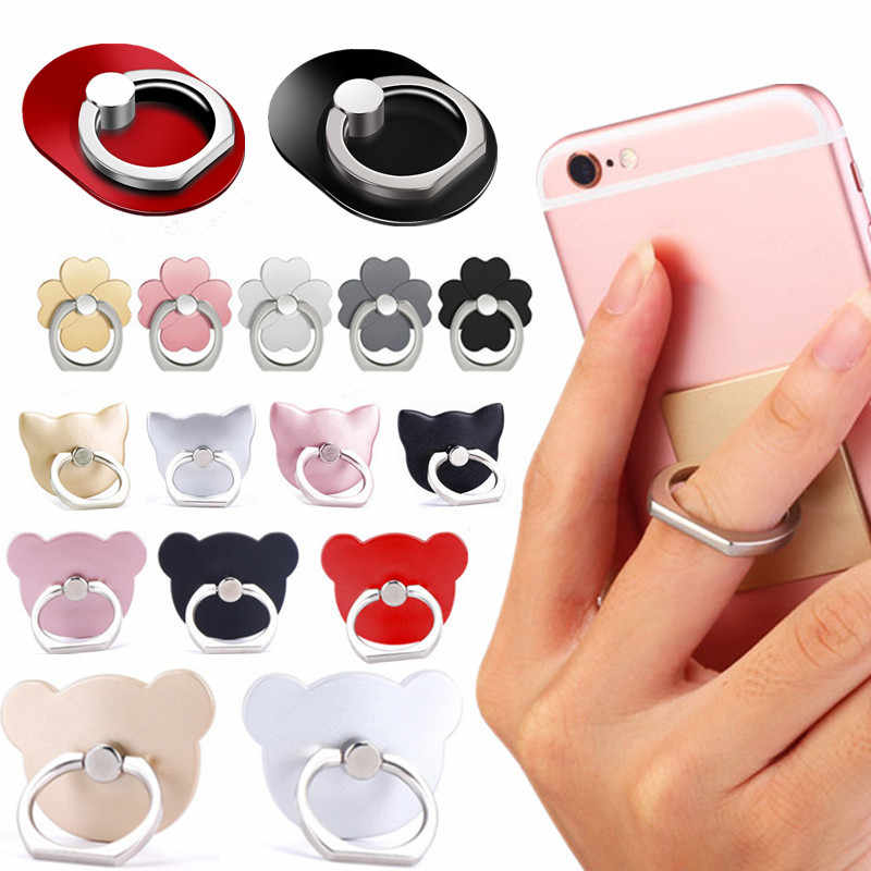 NEW Universal Finger Ring Mobile Phone Smartphone Stand Holder For iPhone Xiaomi Samsung Smart Phone IPAD MP3 Car Mount Stand