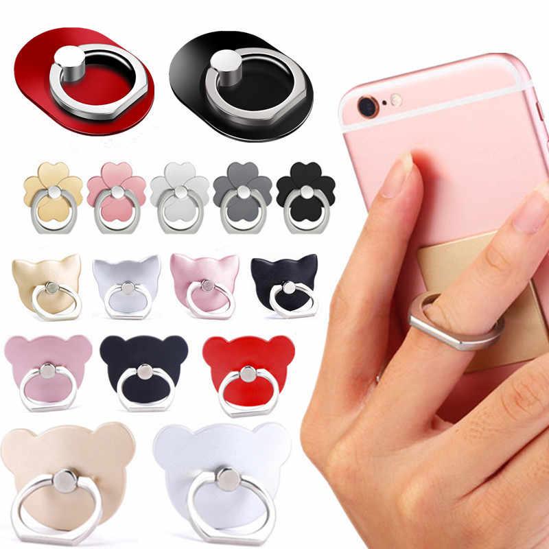 Новый универсальный палец кольцо Мобильный телефон Смартфон подставка-держатель для iPhone Xiaomi samsung смартфон IPAD MP3 автомобильное крепление