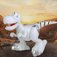 Intelligent Remote Control Electric Dinosaur Robot Multi Function Music Light Touch Sensitive Touch Control Dinosaur Shape Toy