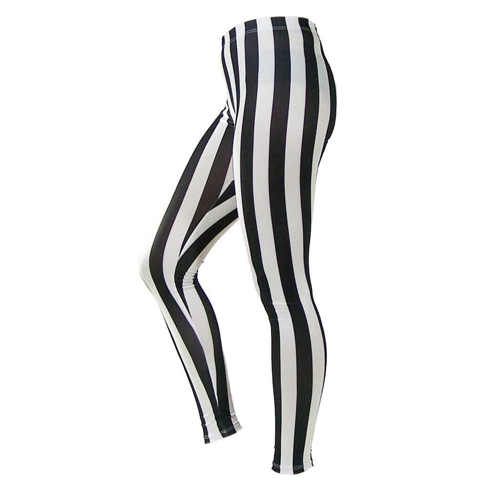 acf6255a190fbe ... 2019 Autumn Women Leggings Black and White Spandex Zebra Print Trousers Fashion  Sexy Fitness Leggings Vertical ...