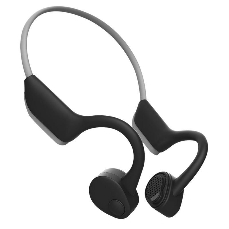 Casque sans fil Bluetooth mains libres réduction du bruit haute qualité sonore arrière suspendu Anti-perte Portable antidérapant Fitness équitation