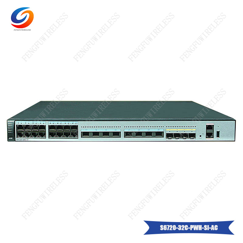 Generous Good Quality S6720-32c-pwh-si-ac Hua Wei S6720-si Series Next-generation Standard Multi-rate Ethernet Switch In Short Supply Fiber Optic Equipments
