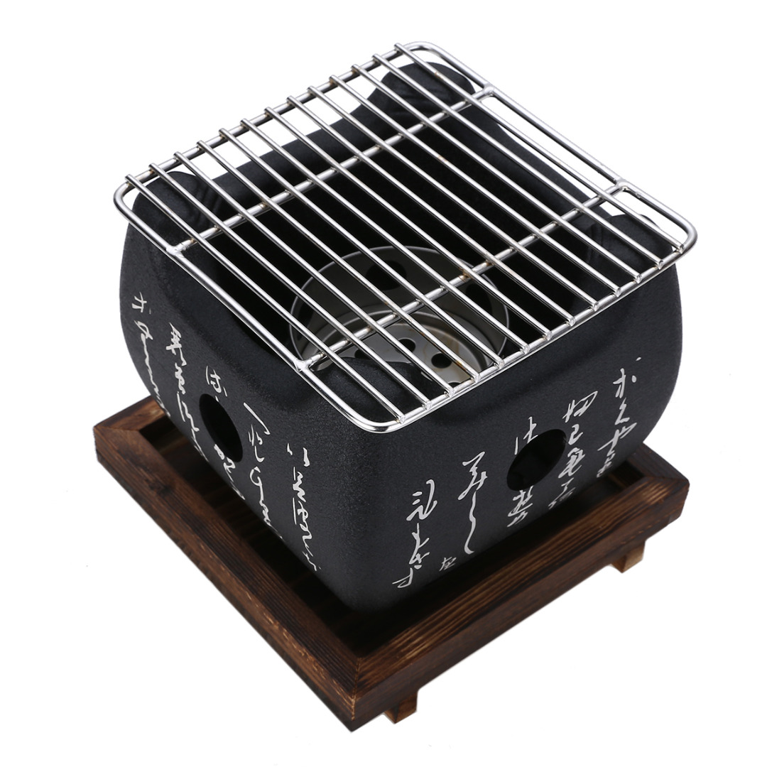 Mayitr Portable BBQ Grill Food Carbon Furnace Barbecue Stove Cooking Oven Alcohol Grill Household Barbecue Accessories Гриль