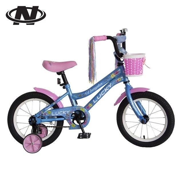 """Велосипед двухколесный Navigator «Lucky» 14"""" голубой"""