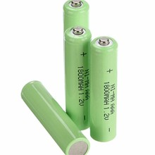4/6/8PCS1.2v AAA 3A NI-MH 1800mah AAA Battery Rechargeable aaa Batteria ni-mh batteries battery rechargeable aaa NIMH
