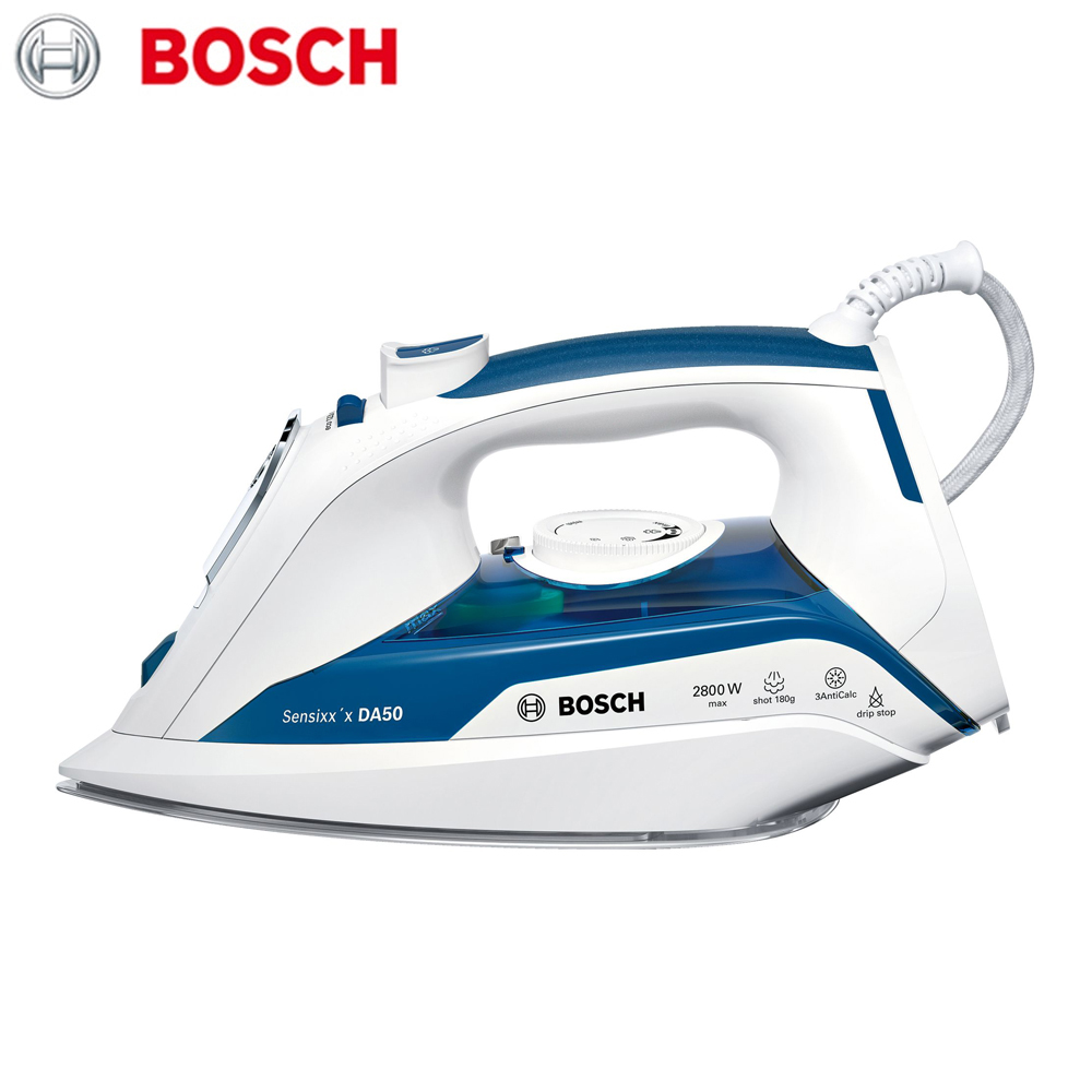 все цены на Electric Irons Bosch TDA5028010  household appliances laundry steam iron ironing clothes онлайн