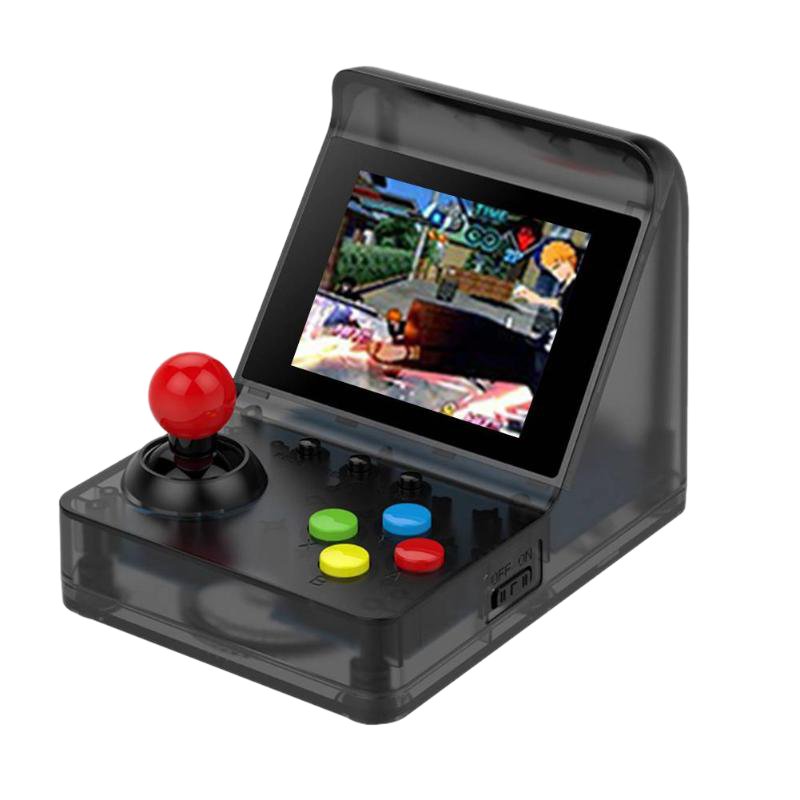 Powkiddy 3 Inch 320 x 240 A7 Game Console Retro Game Player 32Bit Built-In 520 Classic Games Support Doubles And Tf Card Max 3