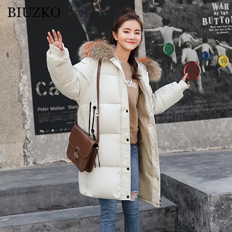 1e21723a2a8 Long De Manteaux army Fourrure red Doudoune Mode blanc Chaud Solide Vestes  Coton Col Et Femme ...