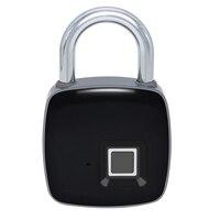 Kleine smart-fingerprint sicherheit elektronische rucksack gepäck schrank türschloss vorhängeschloss