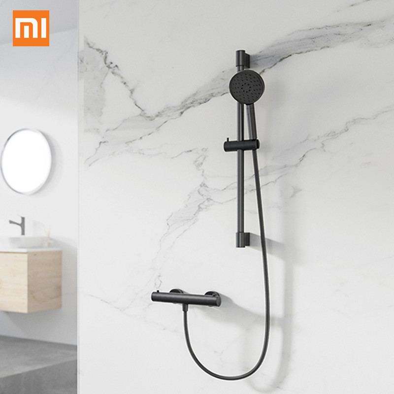 Xiaomi Three Pray Pattern Single-Handed Button Rotatable Design Holding Shower Hose Lifting Lever From Xiaomi YoupinXiaomi Three Pray Pattern Single-Handed Button Rotatable Design Holding Shower Hose Lifting Lever From Xiaomi Youpin