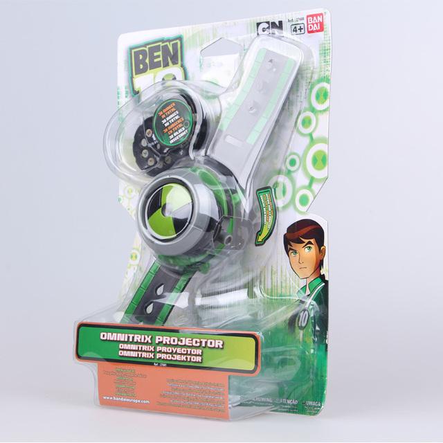 Ben 10 Ultimate Omnitrix Watch Style Kids Projector Watch Japan Genuine Ben10 Watches Toy Wrist Watch
