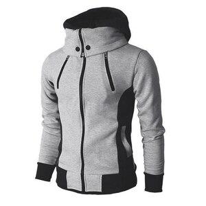 Image 5 - ผู้ชายเสื้อกันหนาว Hooded Sweatshirt Hoodie Coat เสื้อนอก Fleeces