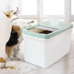 Pet Food Storage Case Sealed Container Moisture-proof Insect-proof Keep Fresh Grain Storage Box Bucket for Dog Cat Food