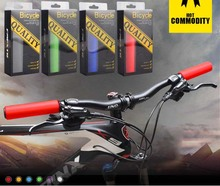 FMF Bike Handlebar Grips Pure Silicone Gel Anti-Slip Soft Comfort MTB Mountain Road Bicycle Fixed Gear