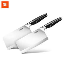 Xiaomi Forging 4cr13 Stainless Steel Knife Set Non-stick Cooking Tool Sharp Durable Kitchen Chopping Bone Knife Slicing Knifes(China)