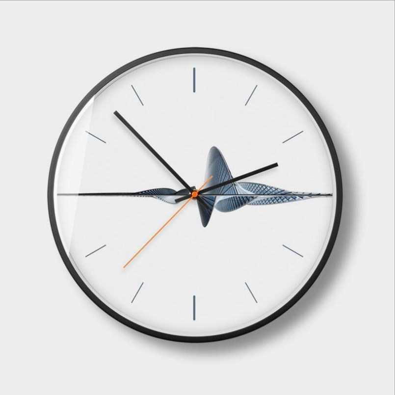 New Wall Clock Quartz Ultra-quiet Sweep Wall Clock Modern Design Simple Wall Clock Large Size Silent Movement Clocks Home Decor
