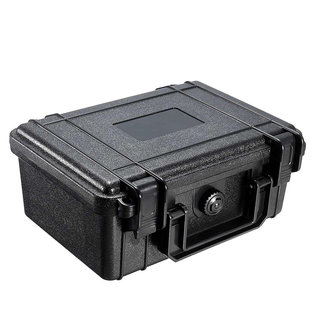 210x165x85mm Wasserdichte Fest Tool Fall Tasche Lagerung Box Mit Schwamm Schwarz Tragen Kamera Objektiv Fotografie toolbox Tragbare Koffer