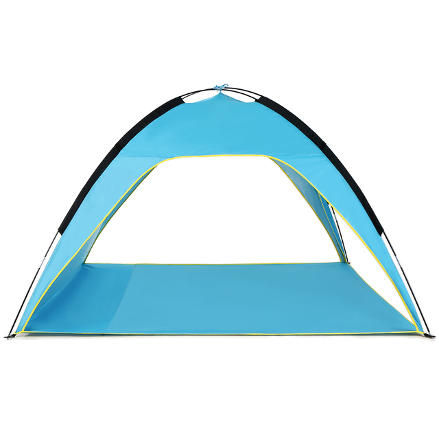 Lightweight Beach Tent Sun Shade Canopy Upf50 Uv Protecting Shelter Camping Fishing Outdoor