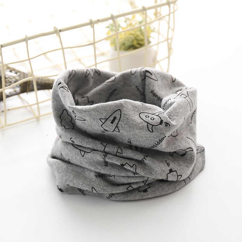 子供のリングスカーフ綿暖かい冬スカーフ Lics ガールかわいい漫画プリント男の子 Snud Braga ペルーキャンディ首スヌード子