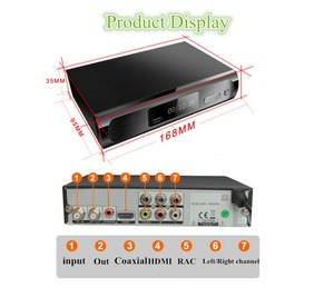 Image 2 - Kebidu M2 DVB T/T2 Satellite Receiver HD Digital TV Tuner Receptor MPEG DVB T2 H.264 Terrestrial TV Receiver DVB T Set Top Box