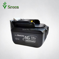 New Makita 14.4V BL1430 3000mAh Replacement Rechargeable Lithium Ion Power Tools Battery Packs LXT200 BL1415