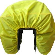 цена на Bicycle bag Road bike rear seat rain cover Luggage waterproof bag Rainproof dust cover Protective equipment Foldable