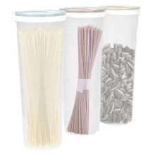 Для круп зерна овсяные гайки бобы контейнер Кухня Столовые приборы для пасты пластик еда многофункциональный ящик для хранения спагетти коробка для лапши