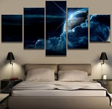 5 Piece Canvas Art Earth Cosmic Clouds Cuadros Poster Decoracion Paintings on Wall for Home Decorations Decor