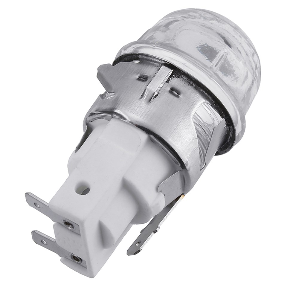 CLAITE E14 2501 Oven Lamp Holder Bulb Adapter High Temperature 300 Degrees AC110-220V