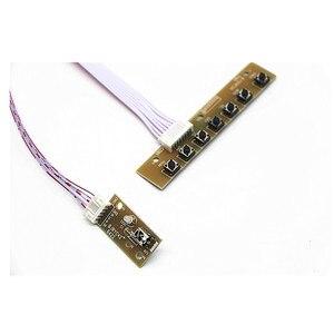 "Image 3 - טלוויזיה + HDMI + VGA + AV + USB + אודיו טלוויזיה LCD נהג לוח 14.1 ""HT141WXB 100 B141EW04 V.4 1280*800 LCD בקר לוח DIY ערכות"
